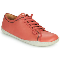 Shoes Women Low top trainers Camper PEU CAMI Red