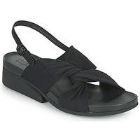 Shoes Women Sandals Camper MINI KAAH Black
