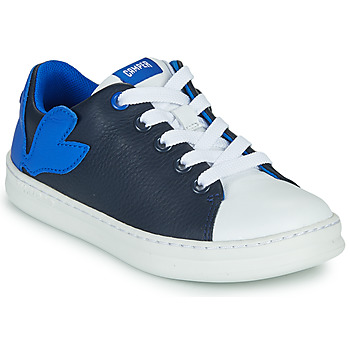 Shoes Boy Low top trainers Camper TWINS Black / Blue