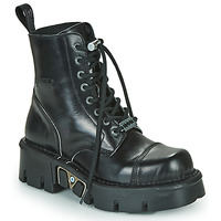 Shoes Mid boots New Rock M-MILI083NCP-C1 Black