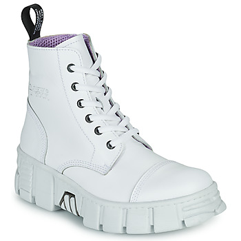 Shoes Mid boots New Rock M-WALL005-C1 White