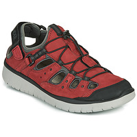 Shoes Men Sports sandals Allrounder by Mephisto MAROON Red