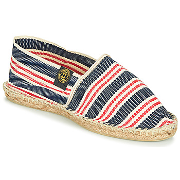 Shoes Espadrilles Art of Soule RAYURE Blue / Red