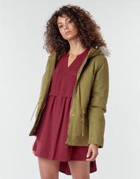 material Women coats Deeluxe LINA Kaki