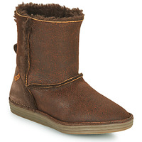 Shoes Women Mid boots El Naturalista LUX Brown