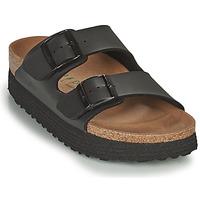 Shoes Women Mules Papillio ARIZONA GROOVED Black