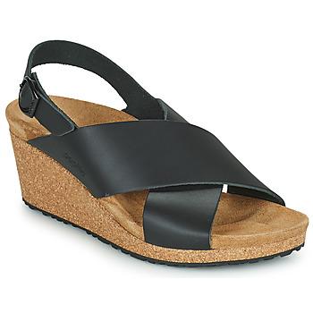 Shoes Women Sandals Papillio SAMIRA RING BUCKLE Black
