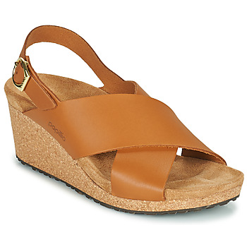 Shoes Women Sandals Papillio SAMIRA RING BUCKLE Brown