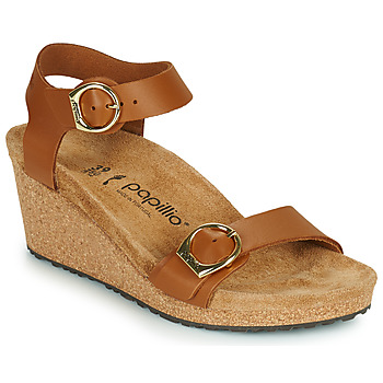 Shoes Women Sandals Papillio SOLEY RING BUCKLE Brown