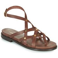 Shoes Women Sandals Jonak WHITNEY Brown