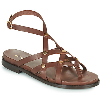 Shoes Women Sandals Jonak WHITNEY Brown