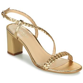 Shoes Women Sandals Jonak VAEMIS Gold
