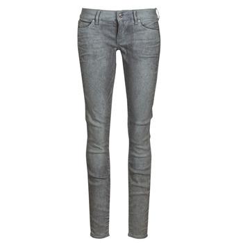 material Women Skinny jeans G-Star Raw 3301 Low Skinny Wmn Dk / Aged / Cobler