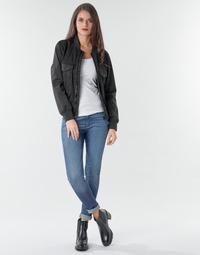 material Women Skinny jeans G-Star Raw 3301 Ultra High Super Skinny Wmn Dk / Aged