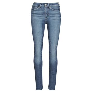 material Women Skinny jeans G-Star Raw 3301 Ultra High Super Skinny Wmn Dk / Aged