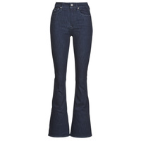 material Women bootcut jeans G-Star Raw 3301 High Flare Wmn Rinsed