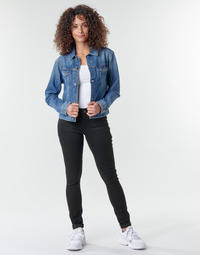 material Women Skinny jeans G-Star Raw Midge Zip Mid Skinny Wmn  black