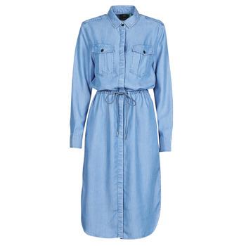 material Women Long Dresses G-Star Raw Rovic maxi shirt dress ls Lt / Aged