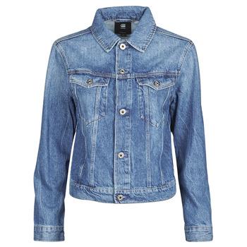 material Women Denim jackets G-Star Raw 3301 Straight Dnm Jkt Wmn Faded / Shore