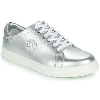 Shoes Women Low top trainers Pataugas TWIST/N F2F Silver