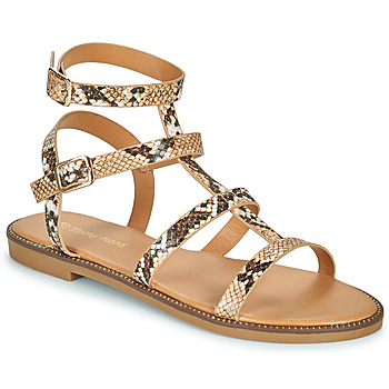 Shoes Women Sandals Moony Mood ONIRIK Brown