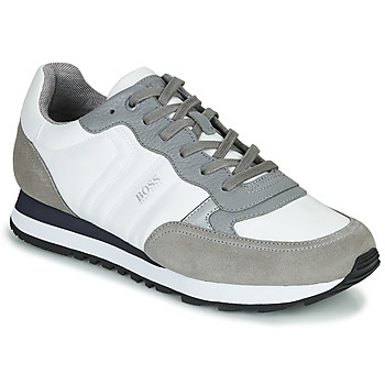Shoes Men Low top trainers BOSS Parkour_Runn_mx 10232529 White / Grey