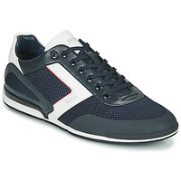 Shoes Men Low top trainers BOSS SATURNE LOWP ME Blue