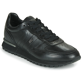 Shoes Men Low top trainers BOSS PARKOUR L RUNN IT Black