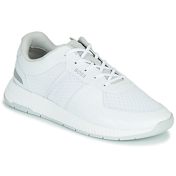Shoes Men Low top trainers BOSS Titanium_Runn_memllg 10235033 White