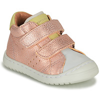 Shoes Girl Low top trainers Bisgaard TATE Pink / Gold