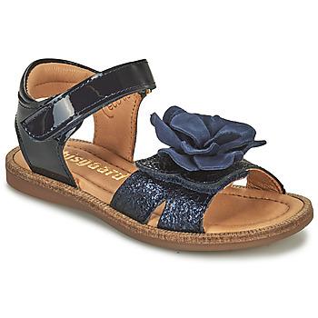 Shoes Girl Sandals Bisgaard AGNES Marine