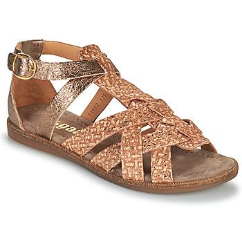 Shoes Girl Sandals Bisgaard CELINE Gold