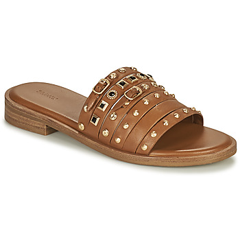 Shoes Women Sandals Bronx THRILL Brown / Gold