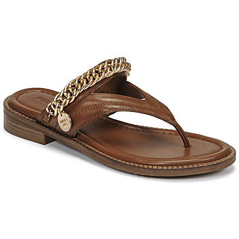 Shoes Women Sandals Bronx NEW THRILL Brown / Gold
