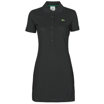material Women Short Dresses Lacoste LOFFI Black