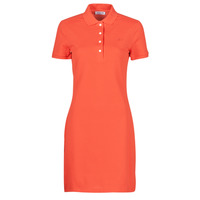 material Women Short Dresses Lacoste EFFA Red