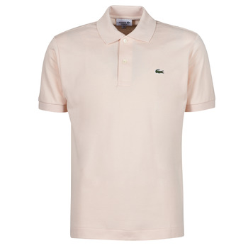 material Men short-sleeved polo shirts Lacoste POLO CLASSIQUE L.12.12 Pink