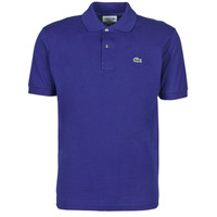 material Men short-sleeved polo shirts Lacoste POLO CLASSIQUE L.12.12 Blue / King