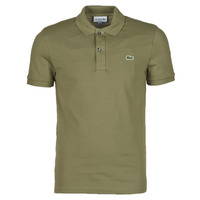 material Men short-sleeved polo shirts Lacoste POLO SLIM FIT PH4012 Kaki
