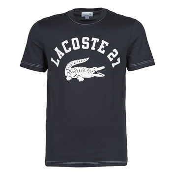 material Men short-sleeved t-shirts Lacoste GHOU Marine