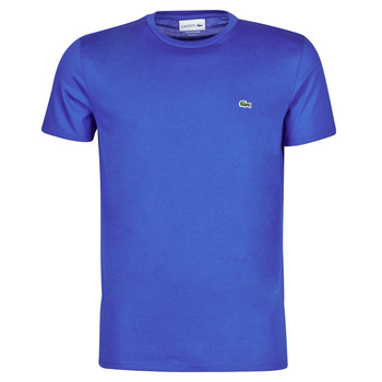 material Men short-sleeved t-shirts Lacoste ALFED Blue