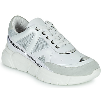 Shoes Women Low top trainers Love Moschino JA15323G1C White