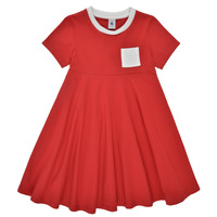 material Girl Short Dresses Petit Bateau MALL Red