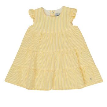 material Girl Short Dresses Petit Bateau MERINGUE Yellow