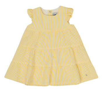 material Girl Short Dresses Petit Bateau MERINGUE Yellow