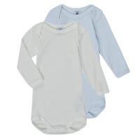 material Boy Sleepsuits Petit Bateau A00AR-00 Multicolour