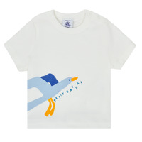 material Boy short-sleeved t-shirts Petit Bateau MEZZO White