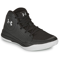 Shoes Children Basketball shoes Under Armour GS JET 2019 Black