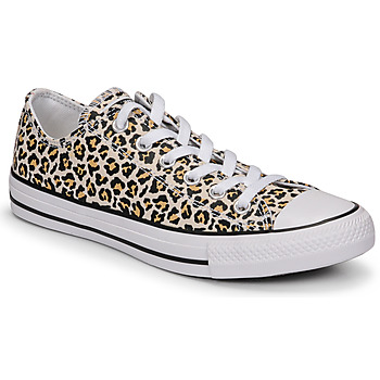 Shoes Women Low top trainers Converse CHUCK TAYLOR ALL STAR ARCHIVE PRINT OX Leopard