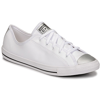 Shoes Women Low top trainers Converse CHUCK TAYLOR ALL STAR DAINTY ANODIZED METALS OX White